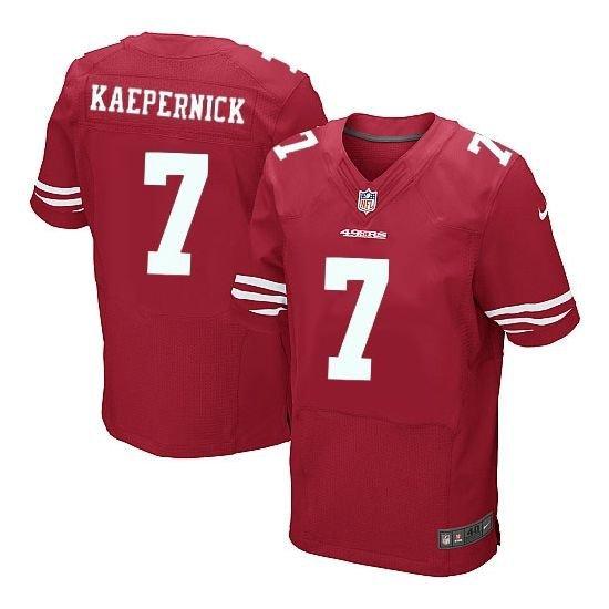 Colin Kaepernick San Francisco 49ers #7 Replica Football Jersey Multiple styles