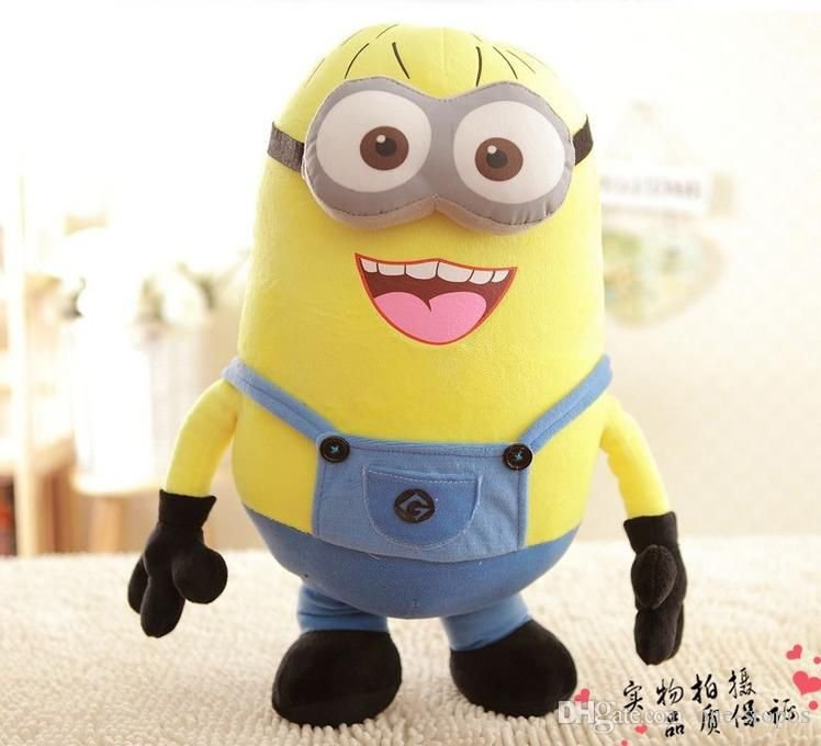 Minion Despicable Me  Children Plush Stuffed Toys Doll Big Size 20inch BOB