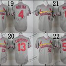 Yadier Molina Matt Carpenter Wainwright Musial St Louis Cardinals Replica Jersey