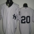 Jorge Posada New York Yankees #20 Replica Baseball Jersey Multiple styles