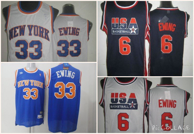 Patrick Ewing New York Knicks #33 Replica Basketball Jersey Multiple Styles
