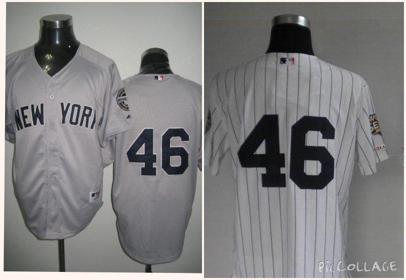 Andy Pettitte New York Yankees #46 Replica Baseball Jersey Multiple styles