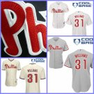 Philadelphia Phillies #31 Jerome Williams  Replica Baseball Jersey Multiple styles
