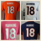 Women's Denver Broncos Peyton Manning #18 Replica Football Jersey Multiple styles