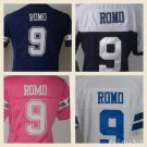 Women's Tony Romo #9 Dallas Cowboys Replica Football Jersey Multiple styles
