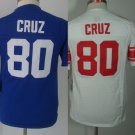Victor Cruz  New York Giants #80 Replica Football Jersey Multiple styles