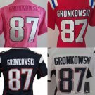 Women's Rob Gronkowski  New England Patriots #87 Replica Football Jersey Multiple styles