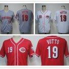 Joey Votto Cincinnati Reds #19 Replica Baseball Jersey Multiple styles