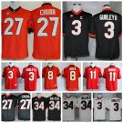 Georgia Bulldogs Replica College Football Jersey - Multiple Players