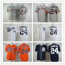Miguel Cabrera Detroit Tigers #24 Replica Baseball Jersey Multiple styles