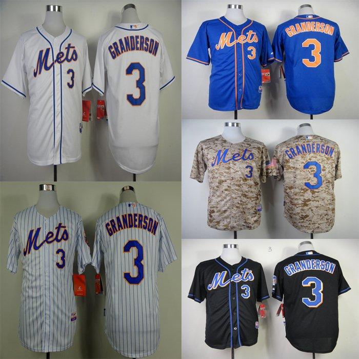 Curtis Granderson  2015 New York Mets #3  Replica Baseball Jersey Multiple styles