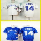 David Price Toronto Blue Jays  #14  Replica Baseball Jersey Multiple styles