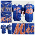 Bartolo Colon New York Mets #40  Replica Baseball Jersey Multiple styles
