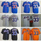 Matt Harvey 2015 New York Mets #33 Replica Baseball Jersey Multiple styles