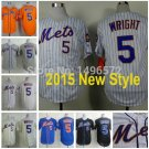 David Wright New York Mets #5 Replica Baseball Jersey Multiple styles