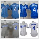 Womens Alex Gordon Kansas City Royals #4  Replica Baseball Jersey Multiple styles