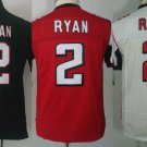 Matt Ryan #2 Atlanta Falcons Replica Football Jersey Multiple Styles