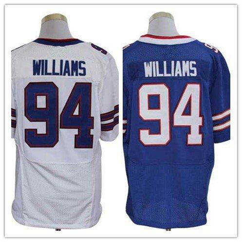 Mario Williams  #94 Buffalo Bills Replica Football Jersey Multiple Styles