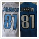 Calvin Johnson #81 Detroit Lions Replica Football Jersey Multiple Styles