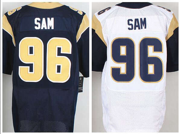 Michael Sam #96 St. Louis Rams Replica Football Jersey Multiple Styles