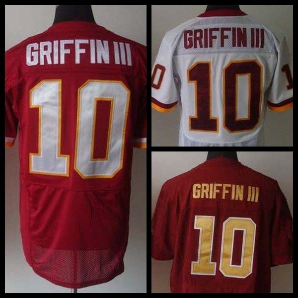 Robert Griffin III # 10 Washington Redskins Replica Football Jersey Multiple Styles