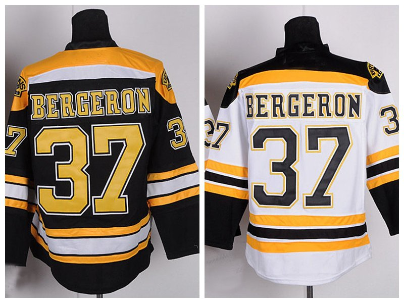 Patrice Bergeron #37 Boston Bruins Replica Hockey Jersey Multiple Styles