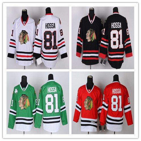Marion Hossa #81 Chicago Blackhawks  Replica Hockey Jersey Multiple Styles