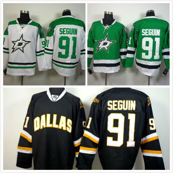 Tyler Seguin #91 Dallas Stars Replica Hockey Jersey Multiple Styles
