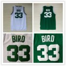 Larry Bird # 33 Boston Celtics  Replica Basketball Jersey Multiple Styles
