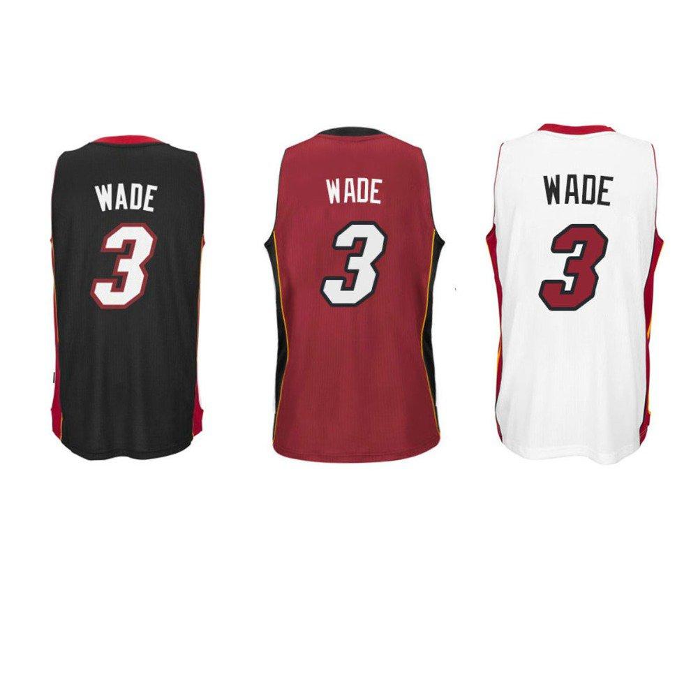 Dwyane Wade #3  Miami Heat Replica Basketball Jersey Multiple Styles