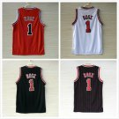 Derrick Rose #1  Chicago Bulls Replica Basketball Jersey Multiple Styles