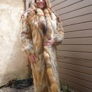 Red Fox Full Length Fur Coat (#04)