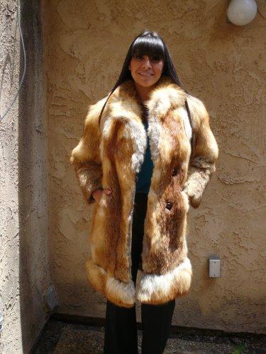 Red Fox Medium Length Fur Coat (#20)