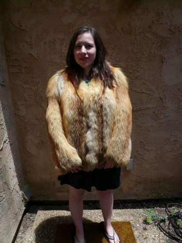 Small Red Fox Jacket (#34)