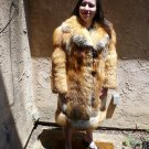 Red Fox Full Length Fur Coat (#38)
