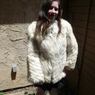 Blue Fox Fur Jacket (#40)