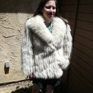 Blue Fox Fur Jacket (#41)