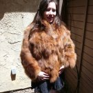 Brown Fox Fur Jacket (#42)