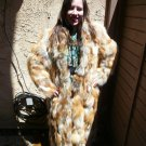 Red Fox Full Length Sectional Fur Coat (#43)