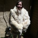 White Fox Fur  Jacket (#57)
