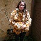 Red Fox Fur Jacket (#63)