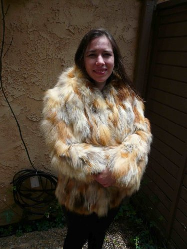Red Fox Fur Jacket (#64)