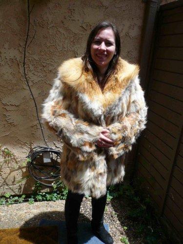 Red Fox Fur Jacket (#69)