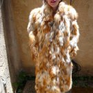 Full Length Red Fox Fur Coat (#77)