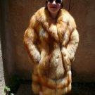 Red Fox Fur Coat (#78)