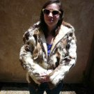 Patchwork Rabbit Fur Jacket (#103)