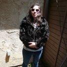 Black Rabbit Fur Jacket (#110)