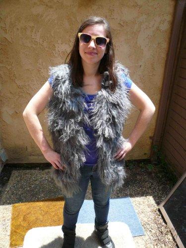 Mongolian Fur Vest (#117)