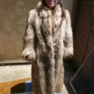 Full Length Tanuki Fur Coat (#128)