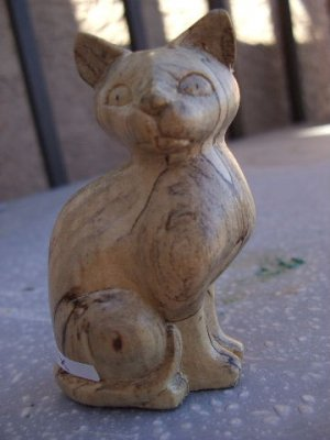 Regal Cat - Mixed wood